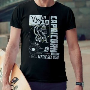 capricorn horoscope t-shirt