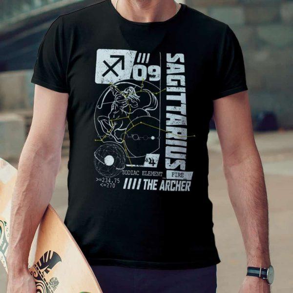 sagittarius horoscope t-shirt